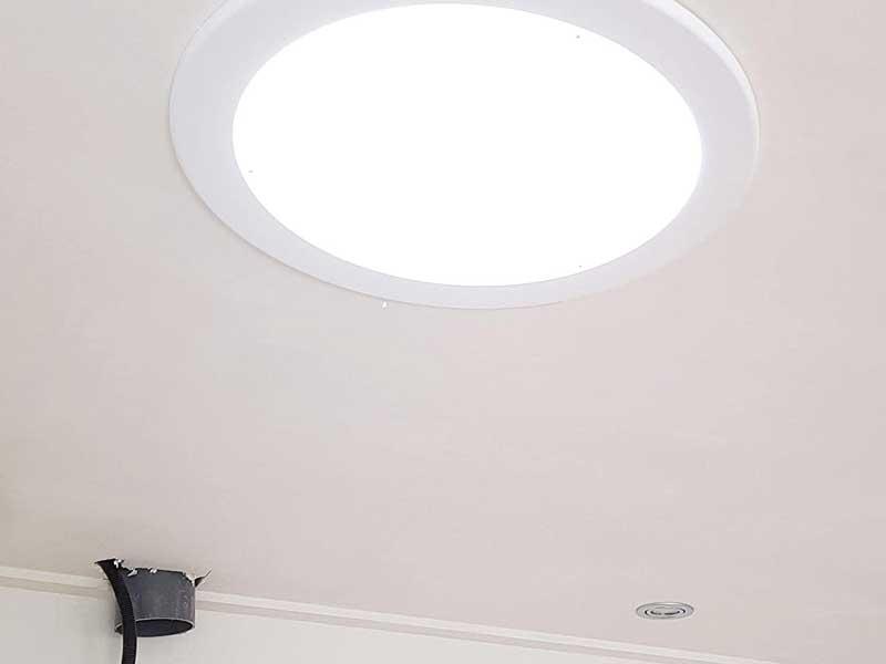 Tubo luz natural teho