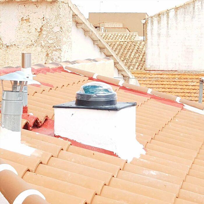 Collettore tetto inclinato