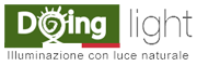 Tunnel Solare Doinglight. Logo